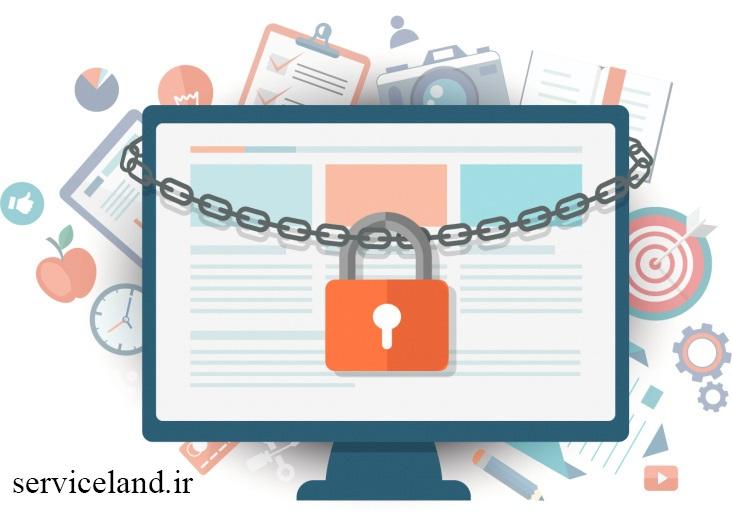 پشتیبانی امنیتی سایت